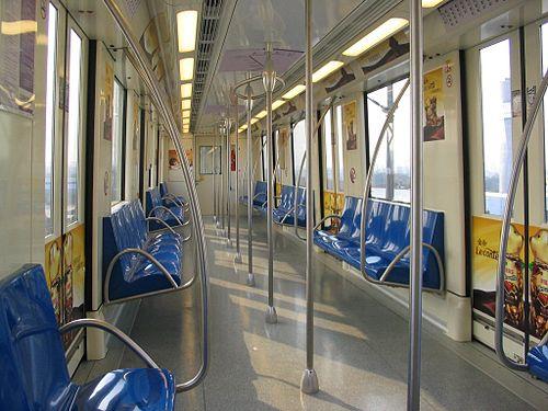 5号线阿尔斯通列车车厢 - 上海轨道交通5号线
