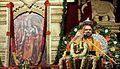 Shri Raghaveshwara Bharathi Swamiji in August 2013 on a Rama Katha discourse.jpg