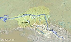 Shule River - Image: Shulerivermap