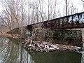 Side view of Middletown Branch bridge, December 2016.JPG