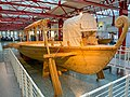 Side view of Roman military ship reconstruction in the Museum of Ancient Seafaring, Mainz, Germany (48988473592).jpg