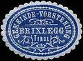Siegelmarke Gemeinde-Vorstehung Brixlegg-Tirol W0343176.jpg