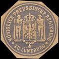 Siegelmarke Königlich Preussische Regierung zu Lüneburg W0245664.jpg