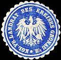 Siegelmarke Königlich Preussischer Landrat des Kreises Gronau i.-H. W0245928.jpg
