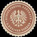 Siegelmarke K.Pr. Landrath des Kreises Borken W0391060.jpg