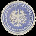 Siegelmarke K.Pr. Standesamt St. Sonderburg Kreis Sonderburg W0338137.jpg