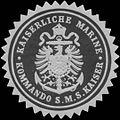Siegelmarke K. Marine Kommando S.M.S. Kaiser W0329127.jpg