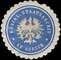 Siegelmarke K. Staatsarchiv zu Aurich W0364676.jpg