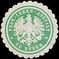 Siegelmarke Prov. Irren-Anstalt zu Düren W0344512.jpg