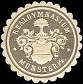 Siegelmarke Realgymnasium - Münster in Westfalen W0233895.jpg