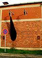 Siegfried Neuenhausen Initiator Künstlerwand Bertramstraße Hannover Timm Ulrichs I.jpg