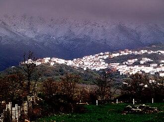 Sistema Central - Image: Sierra de Gata Nevada