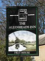 Sign for the Allenheads Inn - geograph.org.uk - 720600.jpg