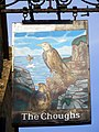Sign for the Choughs - geograph.org.uk - 1448470.jpg