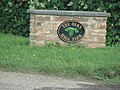 Sign for the Oaks, Haggs Farm - geograph.org.uk - 244564.jpg