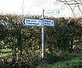 Signpost to Atworth - geograph.org.uk - 620853.jpg