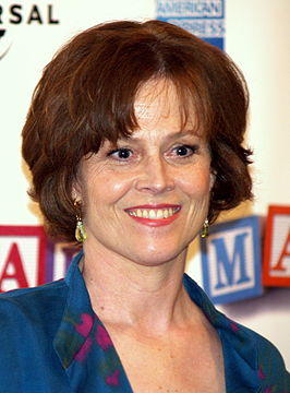 Sigourney Weaver in 2008