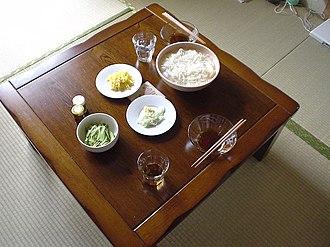 Sōmen - Image: Simple somen