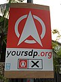 Singapore Democratic Party poster in Holland-Bukit Timah GRC, Singapore - 20150902.jpg