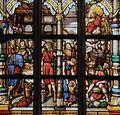 Sint-Pieterskerk (Turnhout) - Detail van het glasraam in de kruisbeuk door Charles Lévêque.jpg