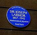 Sir Joseph Larmor plaque, Belfast - geograph.org.uk - 1775426.jpg