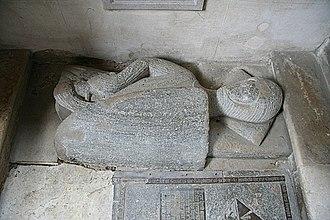 Stephen de Pencester - Memorial to Stephen de Pencester (d. 1299) at St John the Baptist, Penshurst