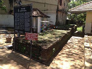 Siri Perakumba Pirivena - The parts of Peripheral wall of the ancient fort of Kotte at the Vihara premises