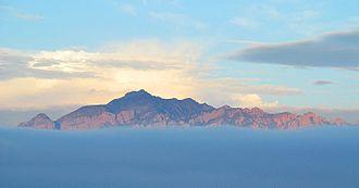 Sky island - Image: Skyislandschiricahua mountains