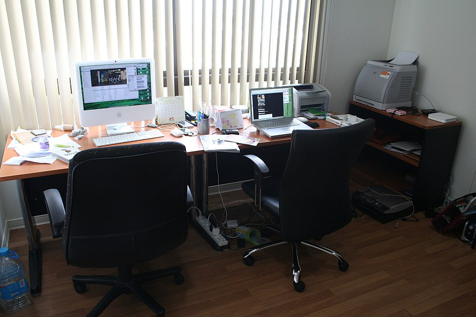 Small Office with Hewlett-Packard printers