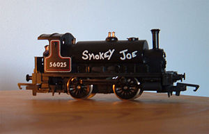 Caledonian Railway 264 Class - Smokey Joe 0-4-0 model