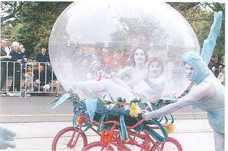 Moomba - Snuff Puppets float Moomba Parade 2001