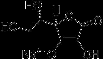Sodium ascorbate - Image: Sodium ascorbate