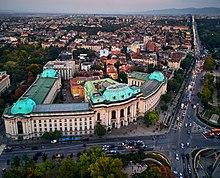 Gebäude der Universität Sofia