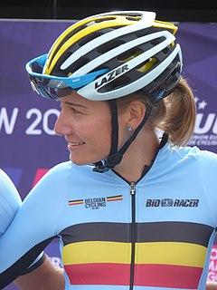 Sofie De Vuyst Belgian cyclist