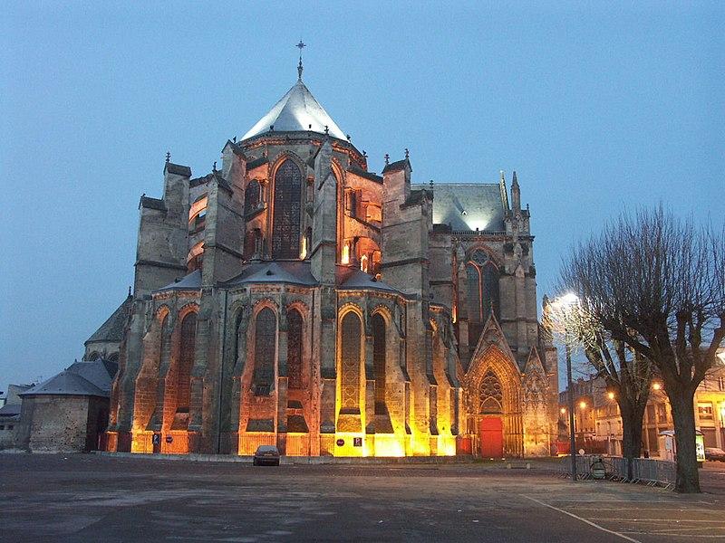 Cathédrale Saint-Gervais-et-Saint-Protais de Soissons, France - East end (Chevet)