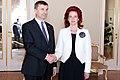 Solvita Āboltiņa tiekas ar Igaunijas premjerministru (5669394694).jpg