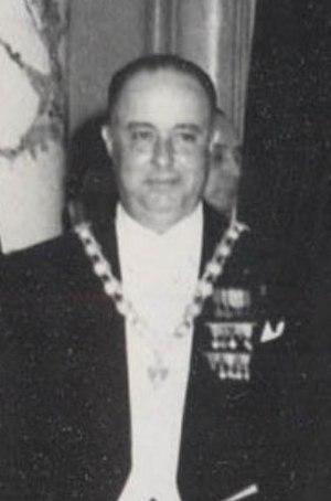 Anastasio Somoza García - Image: Somoza 1952 (centrée)