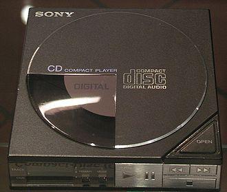 Discman - Image: Sony Discman D 50