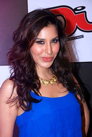 Sophie Choudry - Sophie Choudry at DJ magazine launch, July 2012