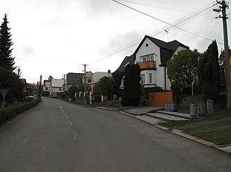 Sosnová (Opava District) - Image: Sosnová (okres Opava), domy