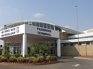 Air Force Base Waterkloof - AFB Waterkloof passenger terminal.