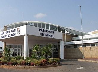 Air Force Base Waterkloof - AFB Waterkloof passenger terminal.