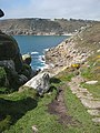 South West Coast Path approaching Lamorna Cove - geograph.org.uk - 781853.jpg