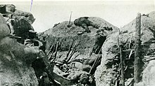 Southern Trench in Lone Pine, Gallipoli, 8 August 1915