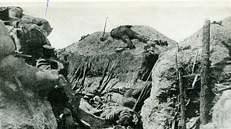 Battle of Sari Bair - Southern Trench in Lone Pine, Gallipoli, 8 August 1915