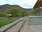 Southwest at Soldier Hollow station, Apr 16.jpg