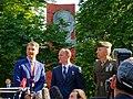 Soyuz MS-05 crew members depart Star City.jpg