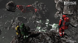 Spatial ability - Space Engineers video game: 3D spatial navigation