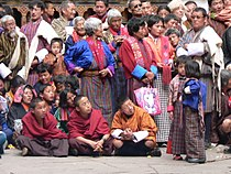 Spectators at the Tsechu.jpg