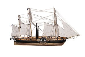 French corvette Sphinx (1829) - Image: Sphinx IMG 6945